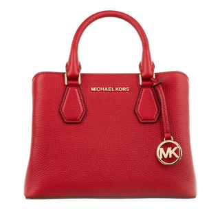 MICHAEL KORS - Tote - Small Satchel Bright Red - in rot - für Damen - 324.00 €
