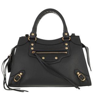 balenciaga - Tote - Neo Classic Small City Bag Grained Calfskin Black - in schwarz - für Damen