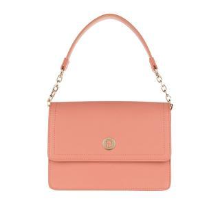 TOMMY HILFIGER - Satchel Bag - Honey Shoulder Bag Clay Pink - in orange - für Damen