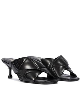 Prada - Sandalen aus Leder