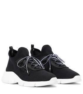 Prada - Sneakers aus Stretch-Strick