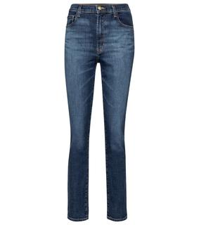 J Brand - High-Rise Slim Jeans Tegan