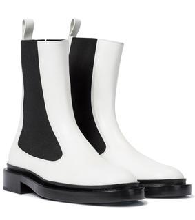 Jil Sander - Chelsea Boots aus Leder