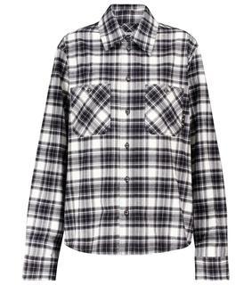 Off-White - Kariertes Hemd aus Baumwollflanell