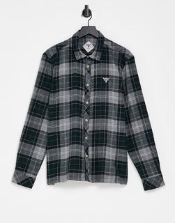 Barbour Beacon - Barbour – Beacon Fletcher – Kariertes Hemd in Grau