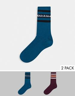 Dickies - Madison Heights – Bunte Socken-Blau