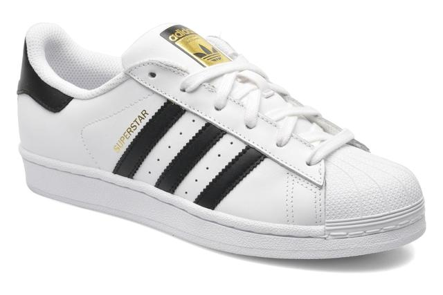 adidas Originals - SUPERSTAR J - Sneaker für Kinder / weiß