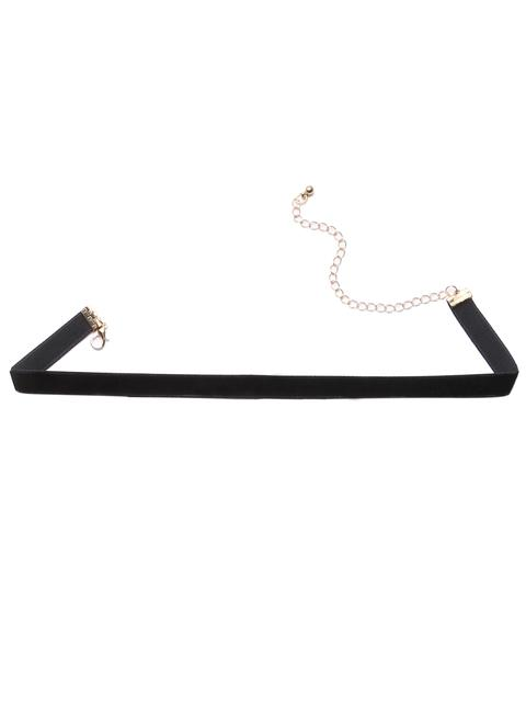 SheIn - Black Velvet Choker Necklace