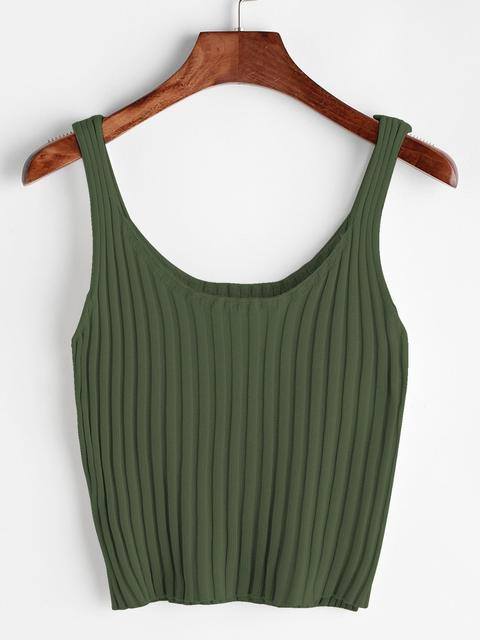 SheIn - Ribbed Tank Top