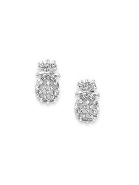 SheIn - Hollow Pineapple Stud Earrings
