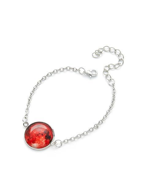 SheIn - Luminous Round Charm Link Bracelet