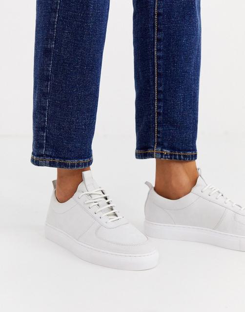GRENSON - Weiße Leder-Sneaker