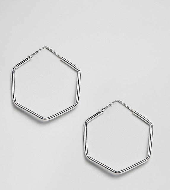 Kingsley Ryan - Sterling Silver Circular Stick Drop Earrings