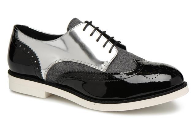 Cosmoparis - ELA - Schnürschuhe für Damen / schwarz