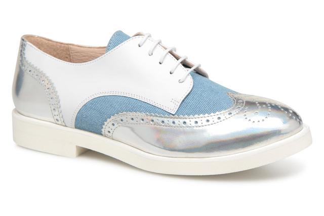 Cosmoparis - ELA - Schnürschuhe für Damen / weiß