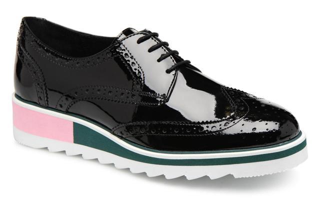 Cosmoparis - VALLEA - Schnürschuhe für Damen / schwarz