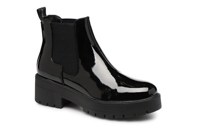 ONLY - onlBRANKA PATENT BOOTIE - Stiefeletten & Boots für Damen / schwarz