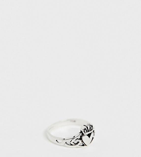 Kingsley Ryan - sterling silver claddagh ring