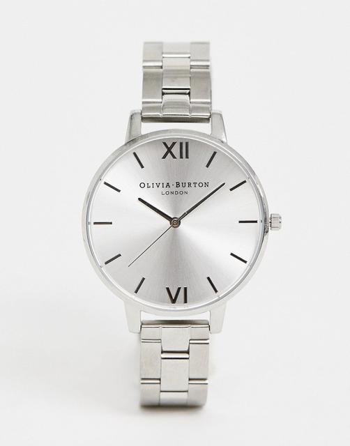 Olivia Burton - OB15BL22 Sunray bracelet watch in silver