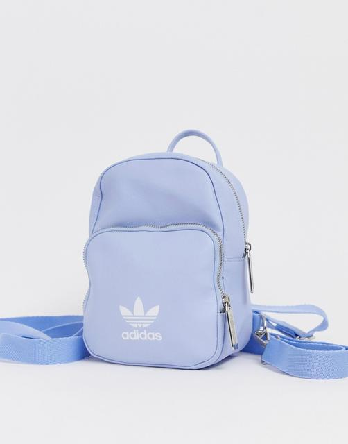 adidas Originals - mini backpack in pale blue