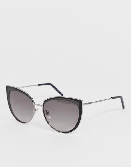 KARL LAGERFELD - Black Cat Eye Sunglasses