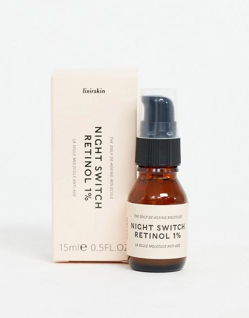 Lixirskin - Night Switch Retinol 1%, 15 ml-Keine Farbe