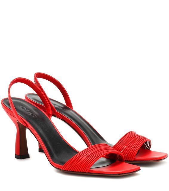 Neous - Slingback-Sandalen Dilema aus Leder
