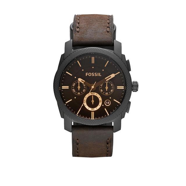 Fossil - Uhr - Machine Dress Watch Black - in braun - für Damen