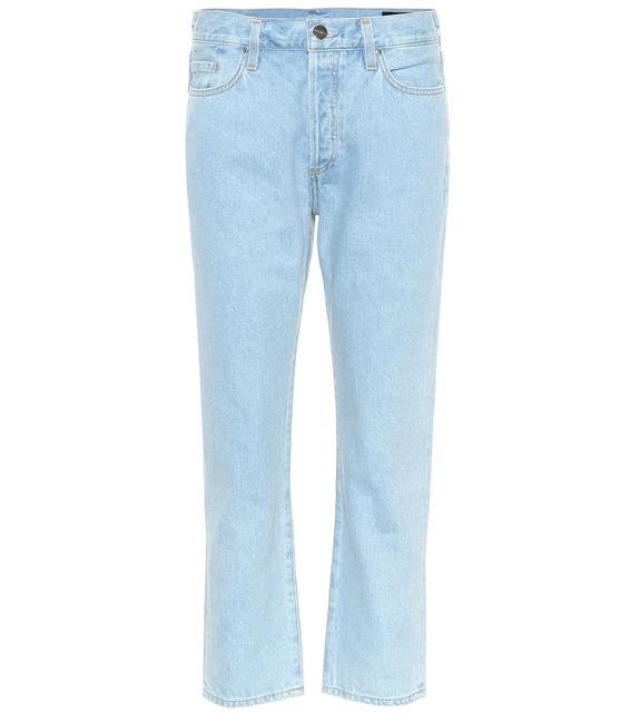 Goldsign - High-Rise Straight Jeans The Low Slung