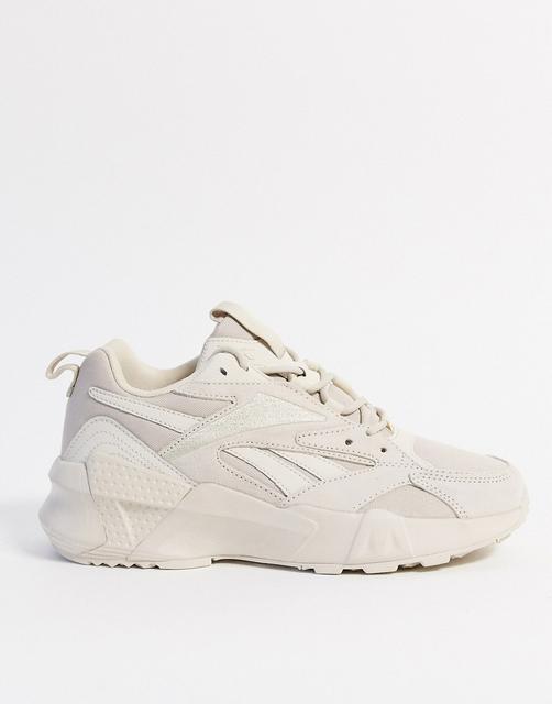 Reebok - Aztrek Double – Sneaker in Beige