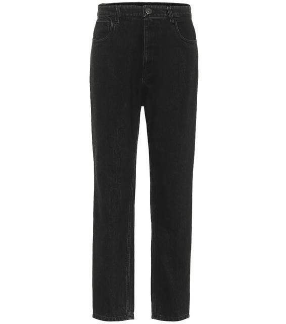 Prada - High-Rise Straight Jeans