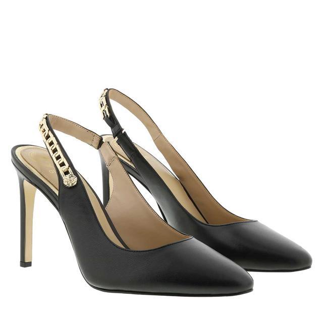 guess - Pumps - Teddi Pumps Black Leather black - in schwarz - für Damen