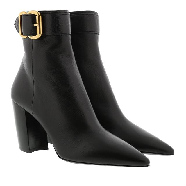 Prada - Boots - Ankle Boots Leather Black - in schwarz - für Damen
