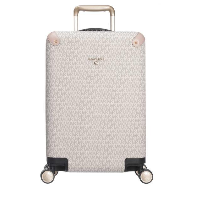 MICHAEL KORS - Reisetasche - Small Hardcase Trolley Vanilla/Softpink - in weiß - für Damen