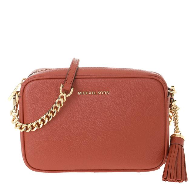 MICHAEL KORS - Umhängetasche - Medium Camera Bag Terracotta - in rot - für Damen