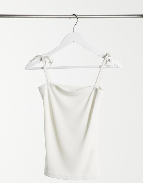 Ivyrevel - Trägertop mit eckigem Ausschnitt in Weiß