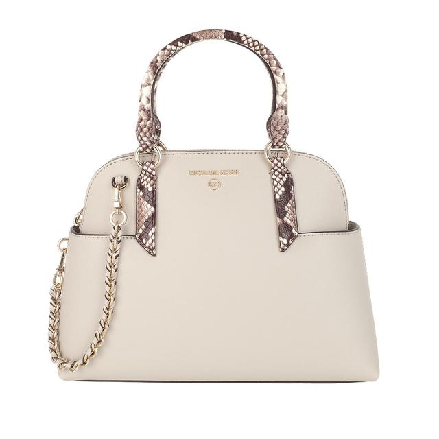 MICHAEL KORS - Tote - Hudson Small Dome Satchel Bag Light Sand - in beige - für Damen