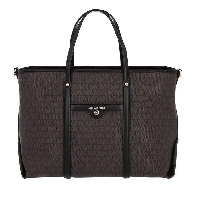 MICHAEL KORS - Tote - Medium Convertible Tote Bag Brown/Black - in braun - für Damen
