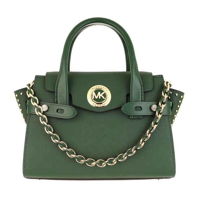 MICHAEL KORS - Umhängetasche - Small Flapp Messenger Bag Moss - in grün - für Damen