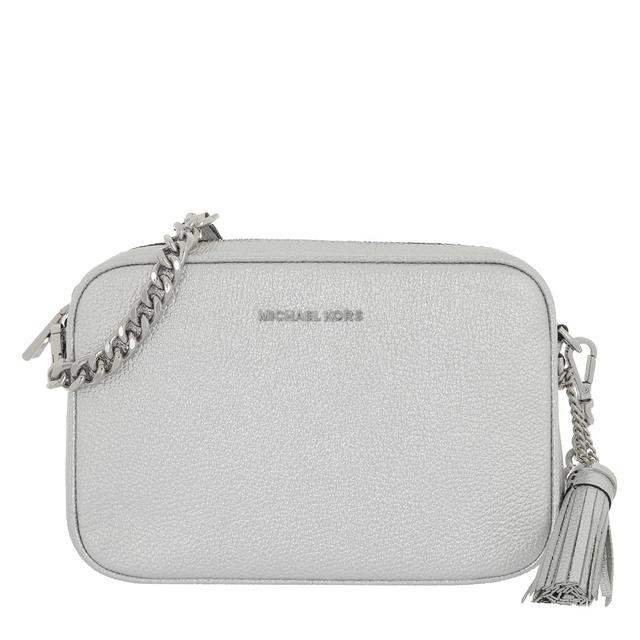 MICHAEL KORS - Umhängetasche - Medium Camera Bag Silver - in silber - für Damen