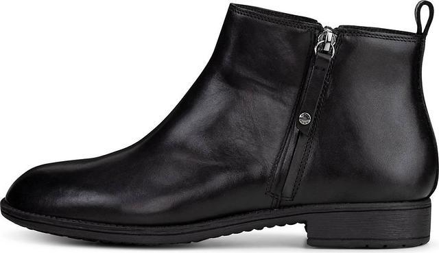 Geox - Zipper-Stiefelette D Jaylon D in schwarz, Stiefeletten für Damen