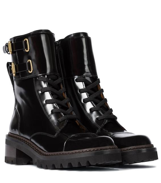 See by Chloé - Ankle Boots Mallory aus Leder