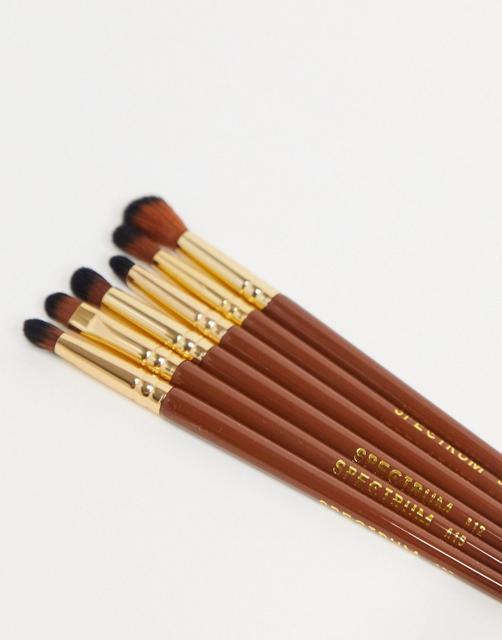 Spectrum - Pantherine – 6-teiliges Make-up-Pinselset-Mehrfarbig