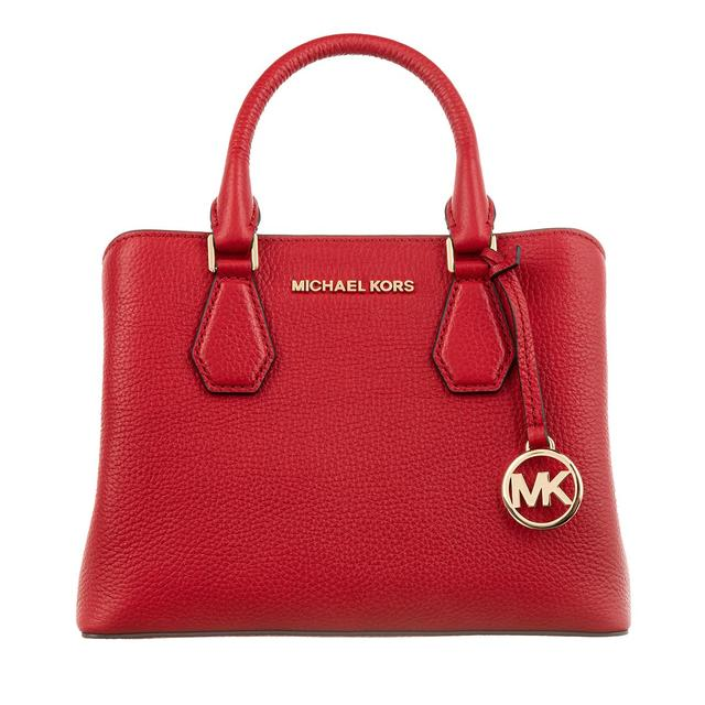 MICHAEL KORS - Tote - Camille Small Satchel Bright Red - in rot - für Damen